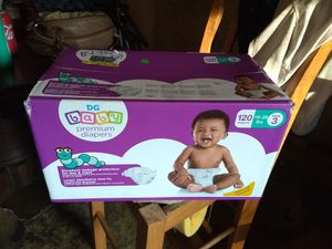 Brand new baby diapers DG brand size 3 for Sale in Gordonsville, TN