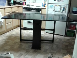 Heavy fold-down dining table for Sale in Seattle, WA