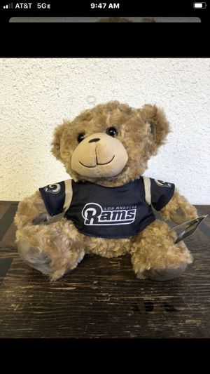 Los Angeles Rams teddy bear for Sale in South Gate, CA