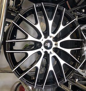 "BRAND NEW! 18"" XXV Black Machine Rims Wheels 5x4.5 Camry Corolla Civic G35 Concave 18x8 for Sale in Tampa, FL"