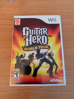 """Guitar Hero """"World Tour"""" for Nintendo Wii for Sale in San Diego, CA"""