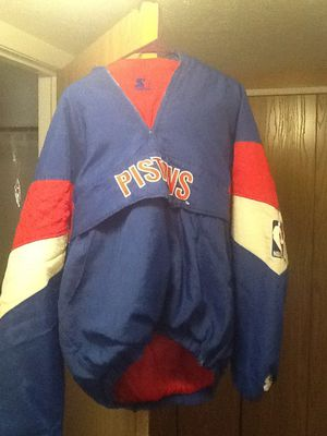 Pistons starter jacket for Sale in Traverse City, MI