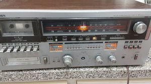 Vintage soundesign AMFM Stereo Receiver Cassette Recorder and 8 track player for Sale in Miami, FL