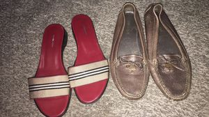 Authentic Prada and Burberry shoes size 7.5 for Sale in Trinity, NC