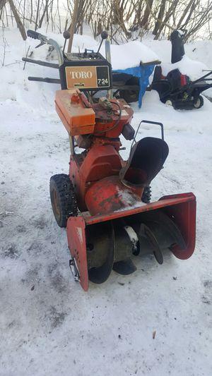 Toro 8Hp snowblower for Sale in Pittsfield, MA