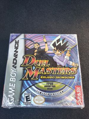 Mew, Sealed GB Advance Duel Masters with Booster Pack for Sale in Fresno, CA