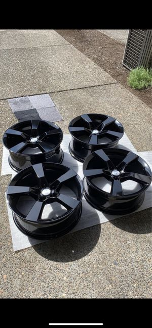 Camaro SS rims gloss black powder coated for Sale in Newberg, OR