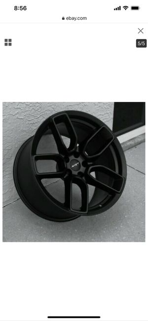 Dodge Charger challenger hellcat wheels 5x115 for Sale in Riverside, CA