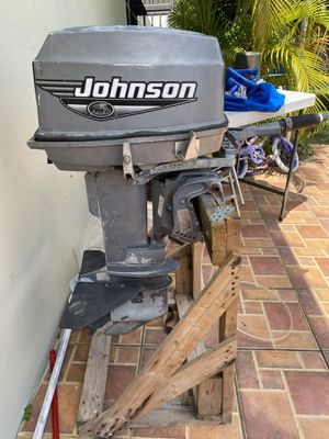 Outboard motor 1999 Johnson 30hp, very good!! for Sale in Miami, FL