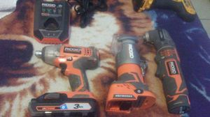 Ridgid cordless power tools for Sale in Stockton, CA