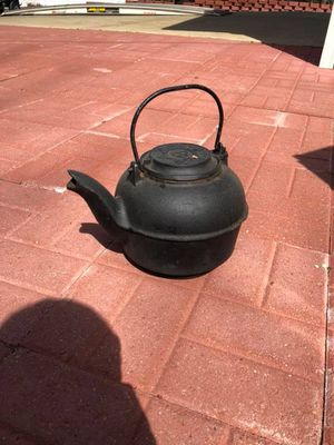 Cast Iron - Tea Kettle - Very Heavy for Sale in Downers Grove, IL