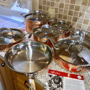 Lagostina 100% Copper Pots & Pans for Sale in Seattle, WA