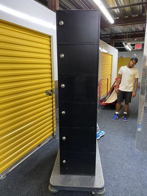 Black storage cabinet for Sale in The Bronx, NY