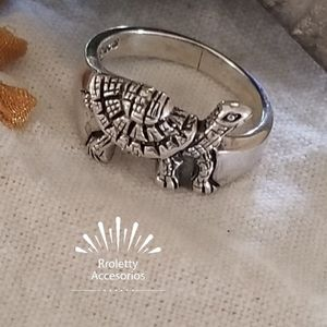 Sterling Silver 925 Turtle Ring With Marcasite. for Sale in Downey, CA