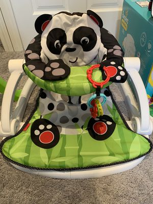 Panda sit and play baby chair for Sale in Naugatuck, CT
