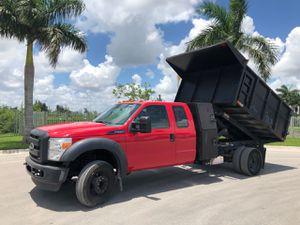 2015 Ford F450 w/12 ft aluminum dump for Sale in Hialeah, FL