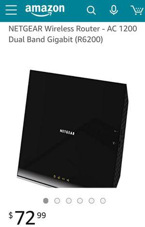 Netgear r6200 for Sale in Seattle, WA
