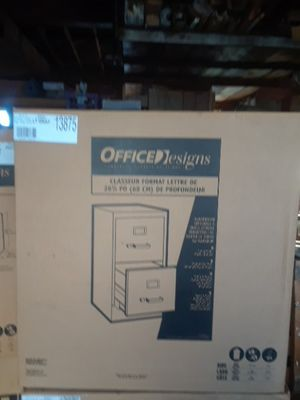 2 Light gray and 2 Putty 2 drawer file cabinets for Sale in Pittsburgh, PA