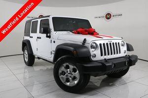 2017 Jeep Wrangler Unlimited for Sale in WESTFIELD, IN