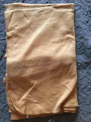 Gold Yellow Fleece Throw Blanket for Sale in Coral Springs, FL