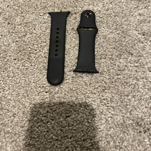 Black Apple Watch Silicon Band for Sale in Apex, NC