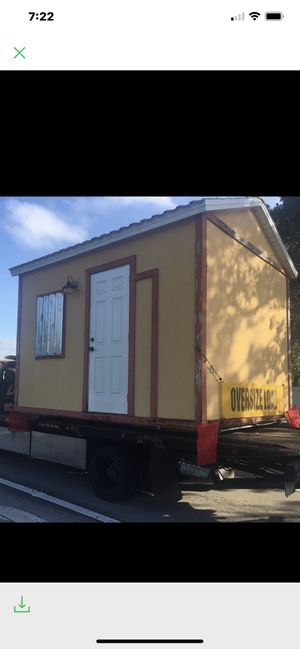 Shed Tiny Home for Sale Hurricane Rated Very Solid w Floor for Sale in Delray Beach, FL