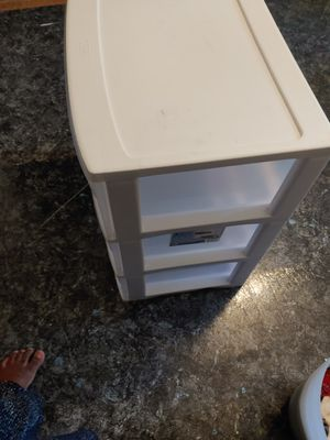 Color and Clear Plastic Drawers for Sale in Troy, MI