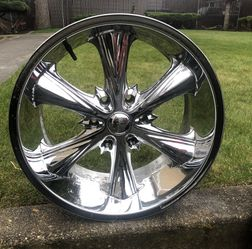 Panther 10 x 20 Chrome Wheels set of 4 for Sale in Lake Tapps,  WA