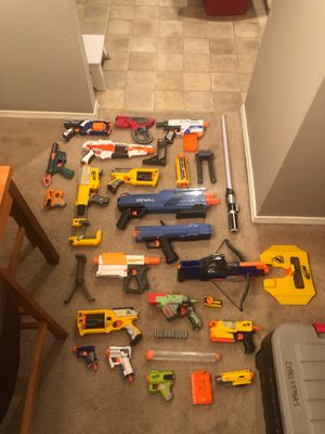 LOTS of nerf guns (and ammo) for Sale in Kennewick, WA