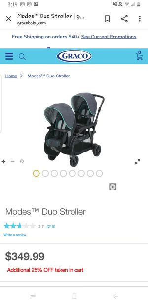 Double stroller for Sale in Converse, TX