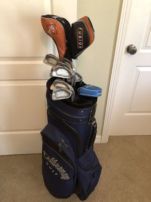 Callaway Drivers with Ping Zing 2 Karsten Golf Club Set for Sale in West Lake Hills, TX