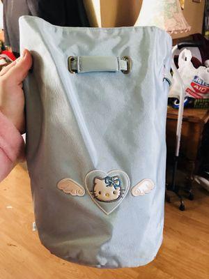 Hello kitty drawstring backpack purse for Sale in Virginia Beach, VA