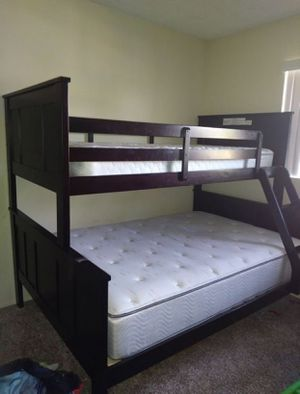 Bunk Bed Brown color from JEROME'S for Sale in US