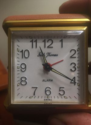 Seth Thomas Travel Alarm Clock for Sale in Niagara Falls, NY