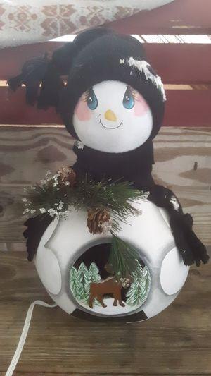 Lamp snowman for Sale in Avon Park, FL