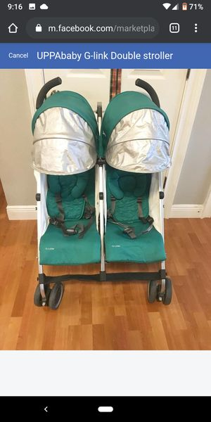 UPPAbaby G-link Double stroller for Sale in Orlando, FL