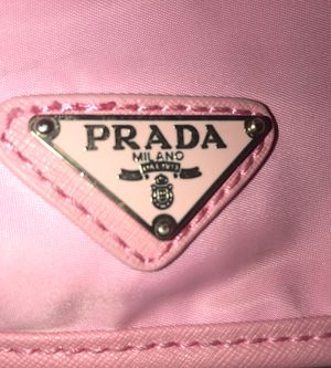 Authentic Pink Nylon and leather trim backpack for Sale in Maitland, FL