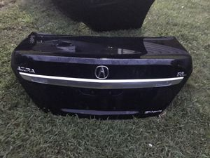 2009 Acura RL rear trunk lid assembly black for Sale in Inman, SC