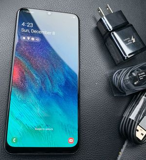 Samsung Galaxy A50 - just like new, factory unlocked, clean IMEI for Sale in Springfield, VA