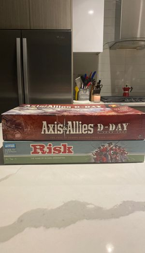 Risk & Axis/Allies D-Day Board Games for Sale in Chicago, IL