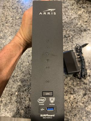 SURFboard SBG7400AC2 DOCSIS 3.0 Cable Modem for Sale in Chandler, AZ