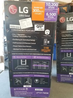 Portable Air Conditioner for Sale in Phoenix, AZ