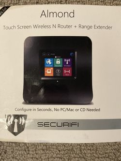 Almond Touch Screen Wireless Router/Range Extender for Sale in Seattle,  WA