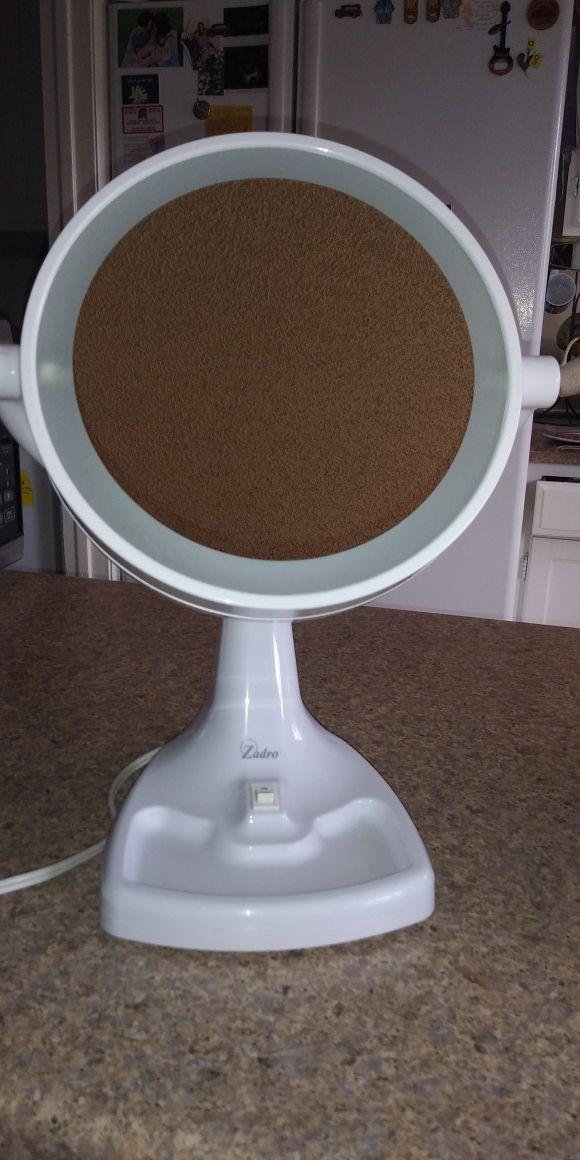 Zadro vanity mirror
