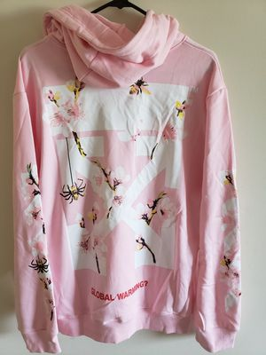 Off white pink hoodie L for Sale in Upper Darby, PA