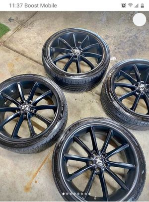"""Lorenzo's 20"""" Rims CLEAN!! for Sale in Delaware, OH"""