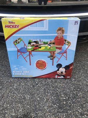 Mickey Mouse table for Sale in Mystic Islands, NJ