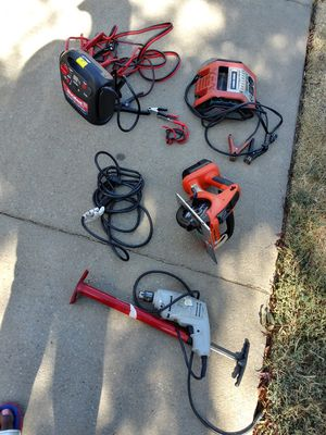 Chargeable jumper cables and power tools for Sale in Sacramento, CA