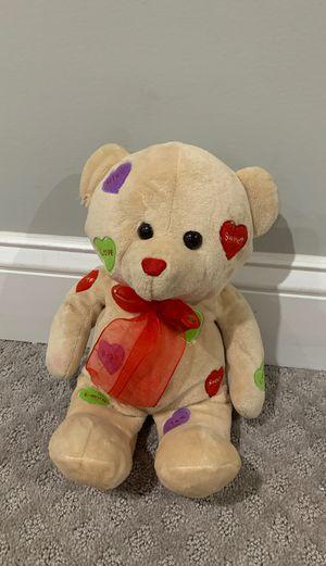 Teddy bear, stuffed animal for Sale in Alexandria, VA