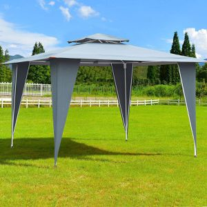 ((Free Shipping)) Awning Tent 2 Tiers 11.5' x 11.5' Gazebo Canopy Shelter Patio for Sale in Seattle, WA